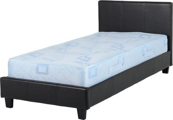 BuBED05  Prado 3Ft Bed in Black