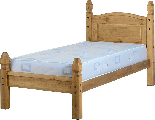 BuBED14  Corona 3Ft Low End Bed