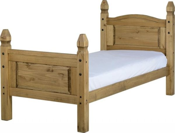 BuBED15  Corona 3Ft High Foot End Bed