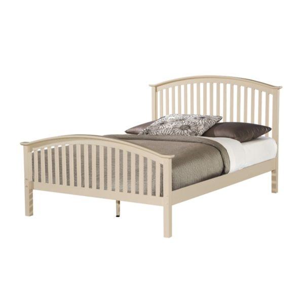 BwBS1014  Cream double 4ft6 Bed frame Malta