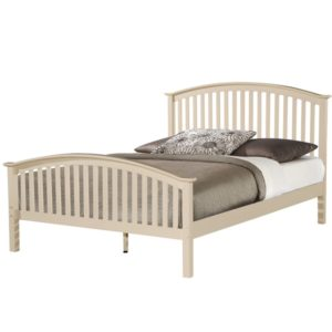 BxBS1015  Cream kingsize 5ft Bed frame Malta