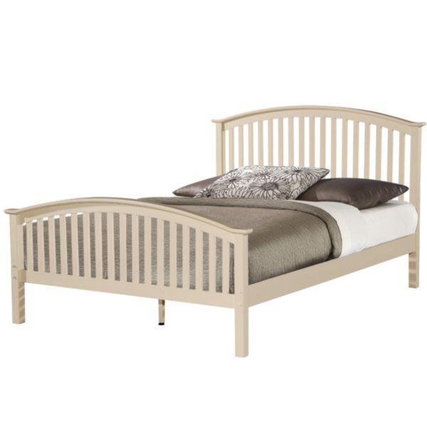 BxBS1015  Cream kingsize 5ft Bed frame Malta