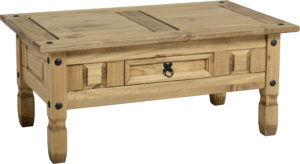 BBS111  Corona 1 Drawer Coffee Table