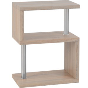 BBS1139  Charisma 3 Shelf Unit in Oak Effect