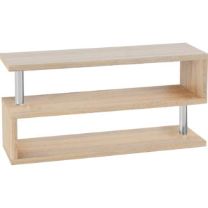 BBS1140  Charisma TV stand in Oak Effect