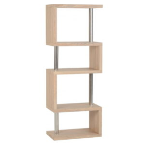 BBS1141  Charisma 3 Shelf unit in Oak Effect