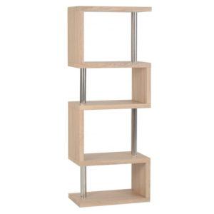 BBS1141  Charisma 3 Shelf unit in Oak Effect