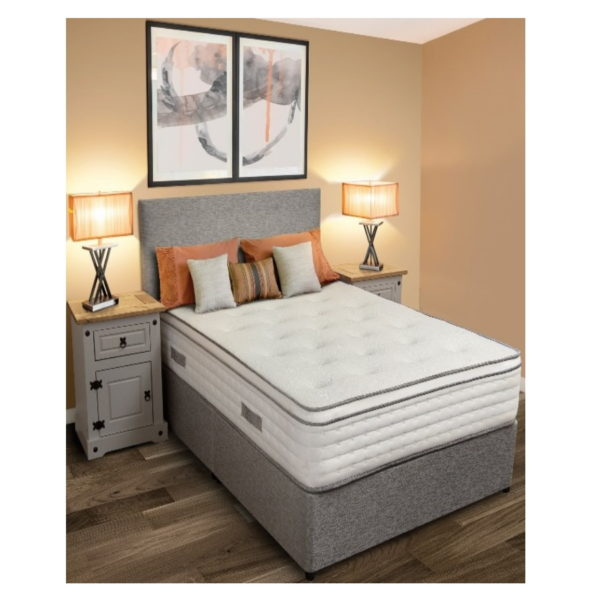 BBS1148  Ultimo 5ft mattress. Note other furniture on the picture not included in price.