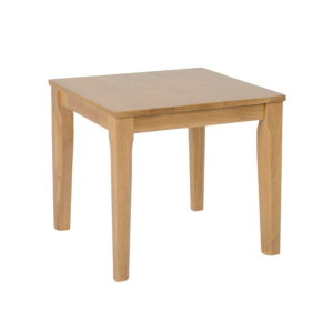 BBS1155  Logan lamp table in Oak Varnish.