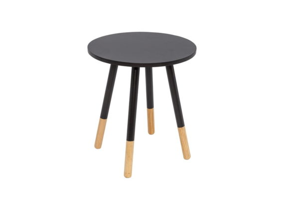 BBS1247  Costa side table in Black.