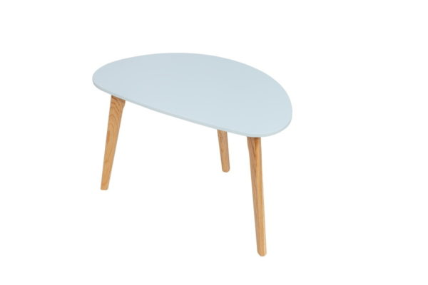 BBS1248  Astro side table in Blue.