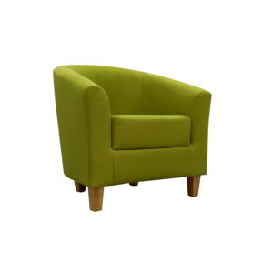BBS1264  Tempo Tub chair in Green (Sage).