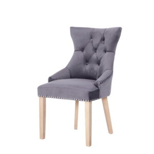 BBS1291  Hudson chair in dark grey.
