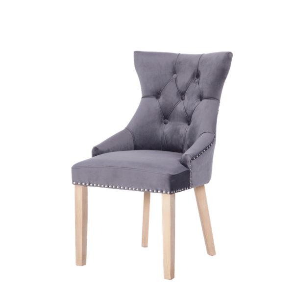 BBS1291  Hudson chair in dark grey.