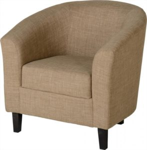 BBS149  Tempo Tub Chair  in Sand Fabric