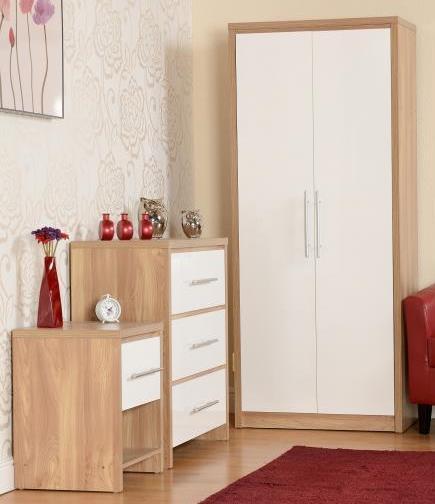 BBS17  Seville Bedroom Set  in White