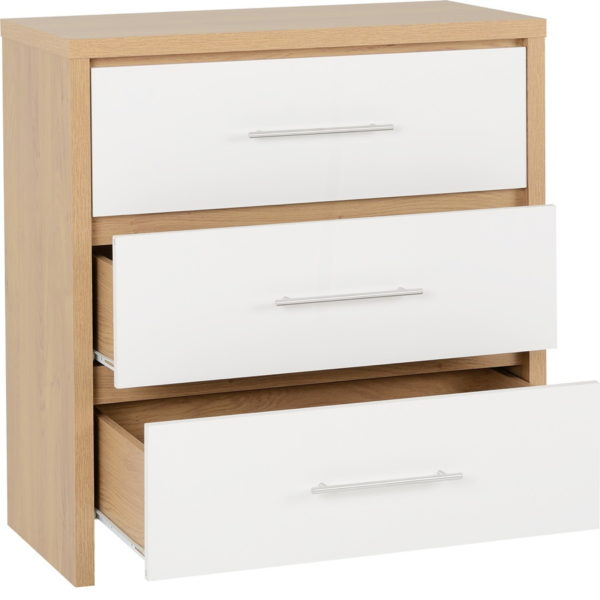 BBS17  Seville Bedroom Set  in White