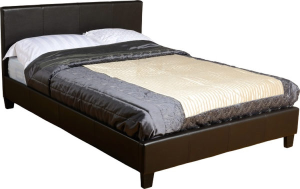 BvBS225  Prado 4Ft Bed in Black