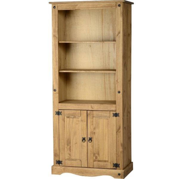 BBS251  Corona 2 Door Display Unit  Bookcase