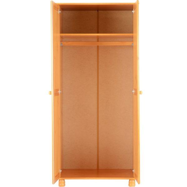 BBS255  Sol 2 door wardrobe
