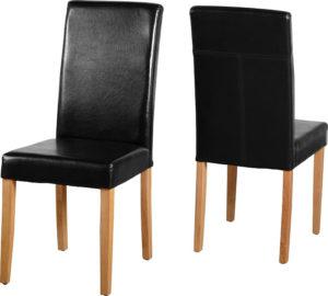BBS26  G3 Chair in Black PU PAIR