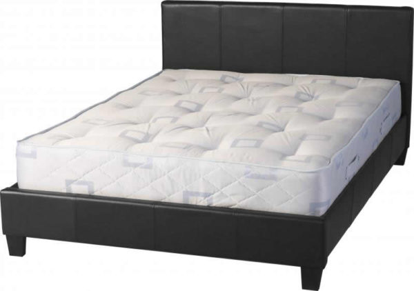 BwBS281  Prado 4Ft6inch Bed in Black