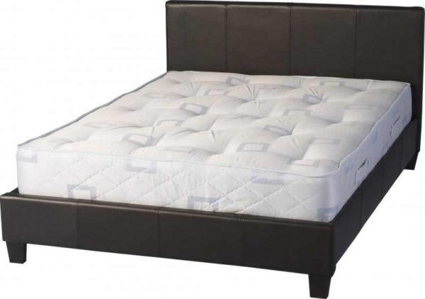 BwBS283  Prado 4Ft6inch Bed in brown