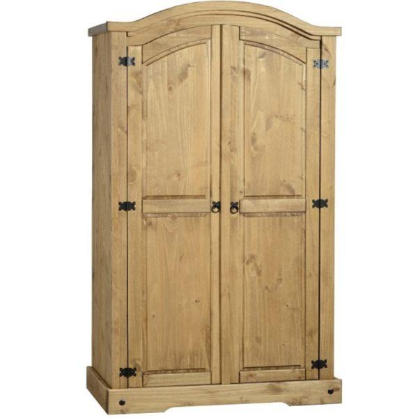 BBS325  Corona 2 Door Wardrobe