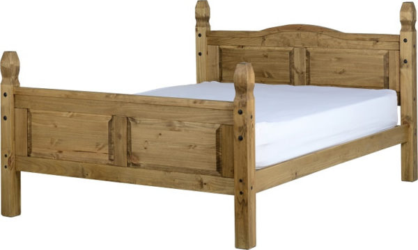 BxBS336  Corona 5Ft High Foot End Bed