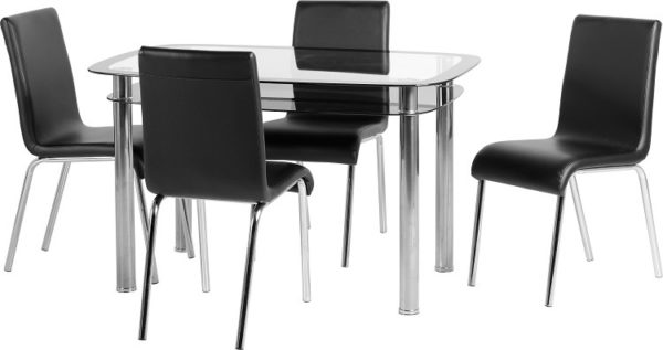 BBS359  Harlequin 4Ft Dining Set