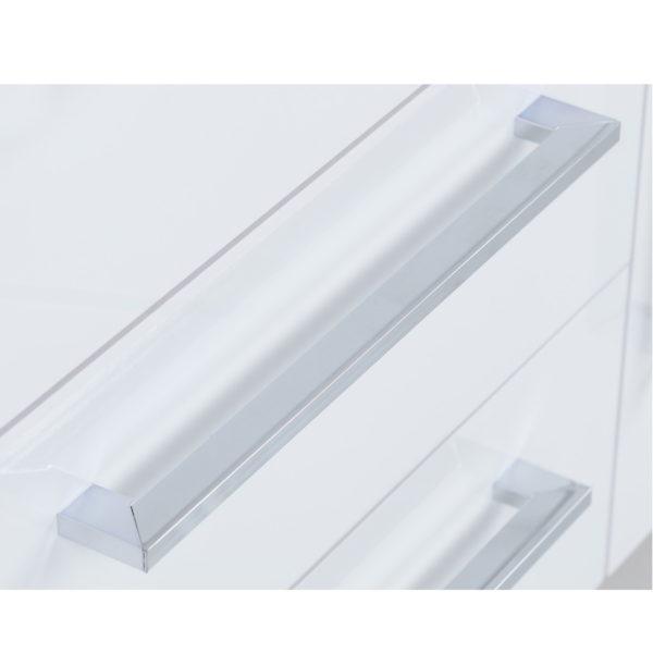 BBS365  Charisma 2 Door 3 Drawer Sideboard White
