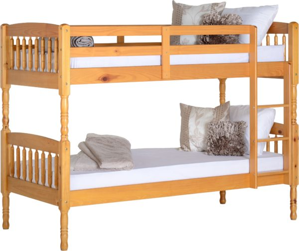BuBS370  Albany 3Ft Bunk Bed Frame