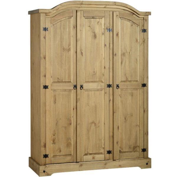 BBS398  Corona 3 Door Wardrobe