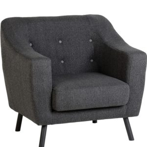 BBS667  ASHLEY CHAIR  in Dark Grey
