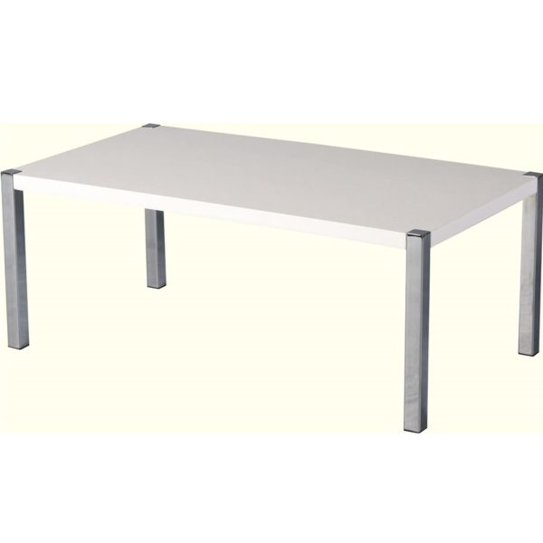 BBS683  CHARISMA COFFEE TABLE  in White