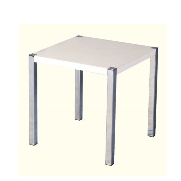 BBS685  CHARISMA LAMP TABLE  in White