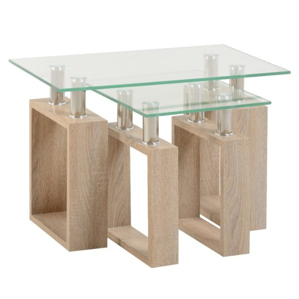 BBS811  Milan Nest of two Tables