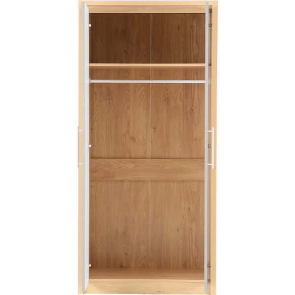 BBS852  SEVILLE 2 DOOR WARDROBE