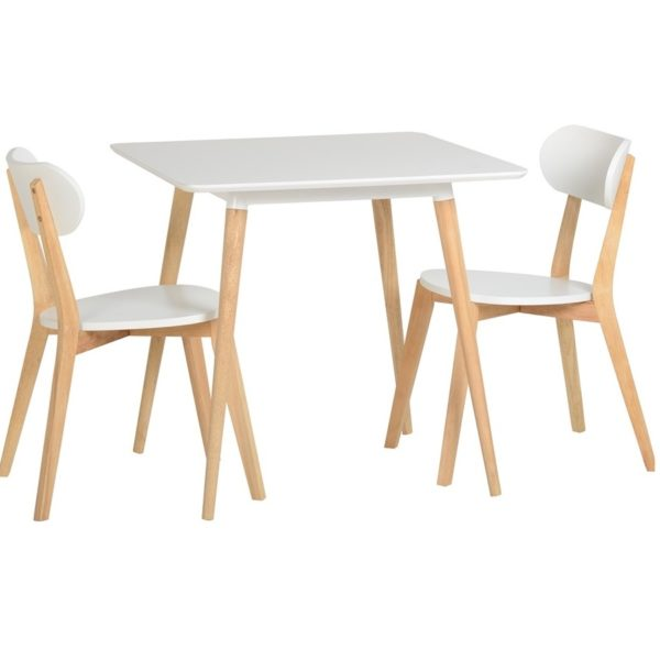 BBS1023  Julian small dining set with 2 chairs