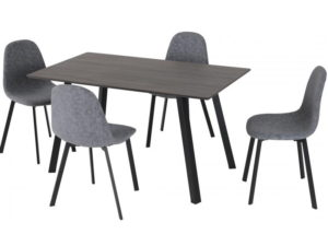 BBS1165  Berlin dining set with 4 chairs.