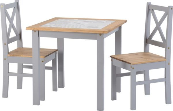 BBS1188  Salvador 1+2 Tile Top Dining Set
