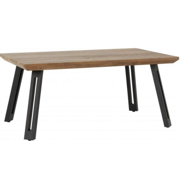 BBS1287  Quebec coffee table in medium oak effect.
