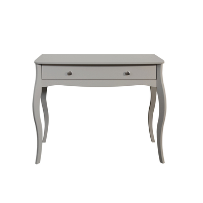 BBS1349  Baroque 1 drawer Vanity Unit in Grey.