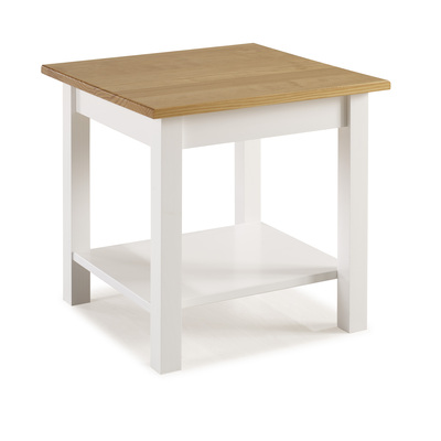 BBS1354  Whitney Lamp Table - White