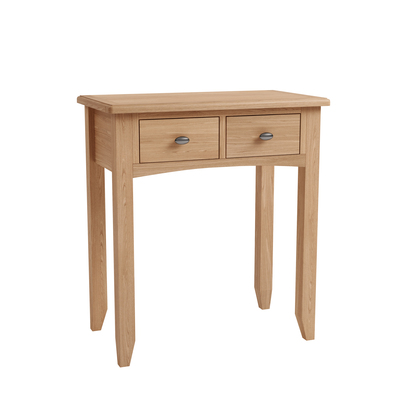 BBS1361  GAO Dressing table with solid oak frame.