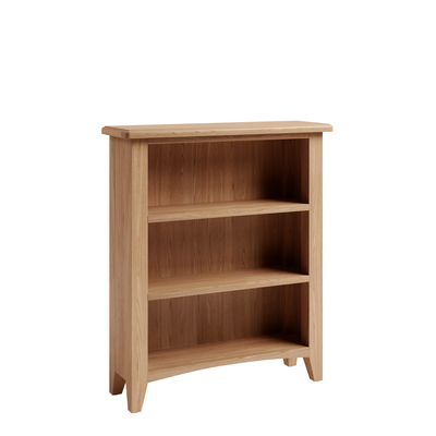 BBS1371  GAO Small Bookcase with solid oak frame.