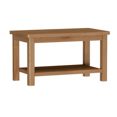 BBS1390  RAO Coffee Table with Shelf in Oak