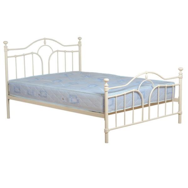 BwBS1441  Keswick 4ft6 bed frame in Cream.