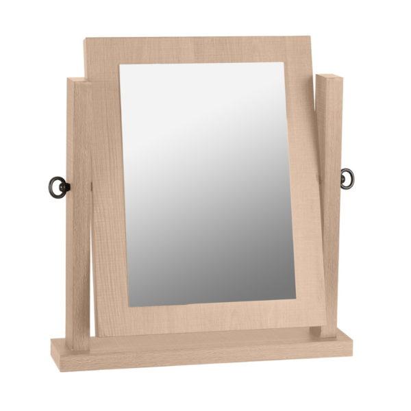 BBS1446  Lisbon dressing table mirror in Sonoma Oak Effect