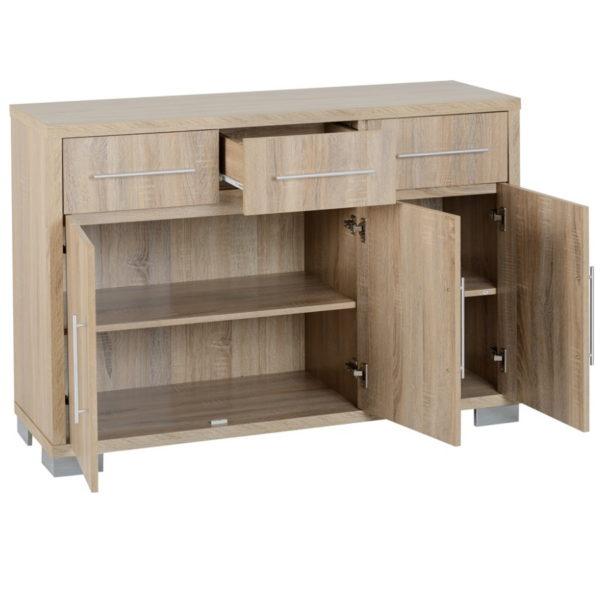 BBS1448  Milan 3 door 3 drawer Sideboard